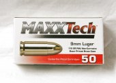 MAXX Tech, 9mm Luger FMJ 115 gr
