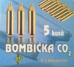 Bombička CO2  12g - 1 ks